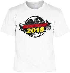 adee6474cd34eb TiniShirts Cooles Fussball T-Shirt für Damen und Herren Weltmeisterschaft  2018 Fussball Fanshirt