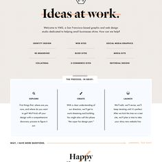 Fonts Used: Dala Floda, Futura, Garamond, and Montserrat · Typewolf Typography Inspiration Web Design Studio, Web Design Tips, Web Design Services, Flat Design, Website Design Layout, Website Design Inspiration, Web Layout, Layout Design, Typography Inspiration