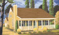 See the Lazare Country Acadian Home that has 2 bedrooms and 2 full baths from House Plans and More. See amenities for Plan Narrow Lot House Plans, House Plans And More, Best House Plans, Acadian Homes, Monster House Plans, Country Style House Plans, Ranch House Plans, Southern Homes, Southern Style