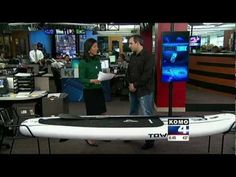 Tower Paddle Board's Stephan Aarstol on KOMO 4 News Seattle