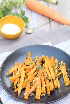 Parmesan Roasted Carrots - Parmezaan worteltjes