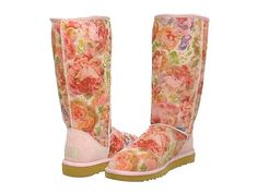 i've always hated those ugg lookin' boots but floral & pastels might change my mind! ;)