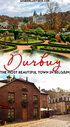 Visit the most beautiful city in Belgium on a day trip from Brussels. Discover the fairytale city of Durbuy in southern Belgium! #Belgium #Travel #Brussels