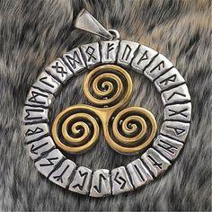 Sun Symbol Amulet Necklace