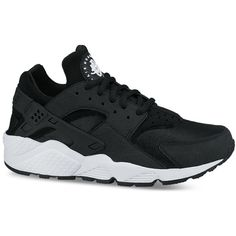 Nike Women's Air Huarache Run Running Sneakers from Finish Line (£88) ❤ liked on Polyvore featuring shoes, light weight shoes, lightweight shoes, nike footwear, nike and native american shoes