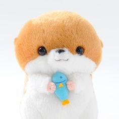 picture of Kawauso no Kotsume-chan Home Party Plushies (Standard) 11 So damn kawaii Kawaii Plush, Cute Plush, Kawaii Cute, Softies, Plushies, Felt Animals, Cute Animals, Hamster, Cute Stuffed Animals