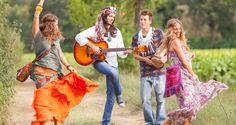Um Pedacinho de Mim: Festa Hippie!