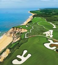 Golf course in Porto Seguro, Bahia