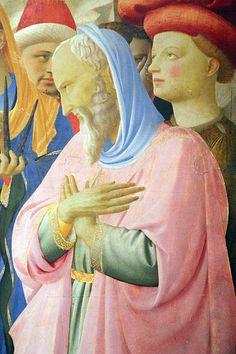 File:Beato angelico, pala strozzi della deposizione, con cuspidi e predella di lorenzo monaco, 16.JPG