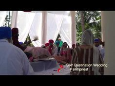 Destination Sikh Wedding in Punta Cana, Dominican Lavan Sikh Wedding, Destination Wedding, Punta Cana, Priest, Caribbean, Weddings, Bodas, Hochzeit, Destination Weddings