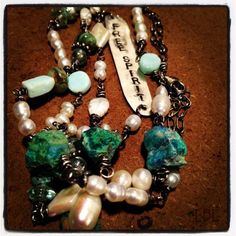 Free Spirit Bohemian Necklace by Laura Beth Love