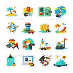 Image result for travel icons