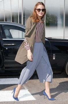 "Olivia Palermo Photos Photos: Fashion Icon Olivia Palermo Receives a First Look at Rolls-Royce Motor Cars' Latest Design Creation, Wraith ""Inspired by Fashion"" During The Global Debut Of The Stunning New Motor Car At An Exclusive Event In The Heart Of New Olivia Palermo Street Style, Olivia Palermo Outfit, Olivia Palermo Lookbook, Estilo Fashion, Ideias Fashion, Marine Look, Star Fashion, Fashion Trends, City Fashion"