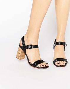 Bild 1 von Carvela – Elegante Sandalen mit Korkabsatz