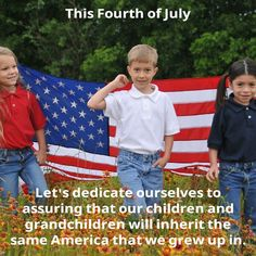 You mean the one that only exists in your imagination?  Or do you actually understand the country you grew up in and think that's good enough?  Because the one I grew up in had state run education, an FCC, and a lot of other immoral stuff.  I don't want the next generation to grow up in that America.  I want something better.