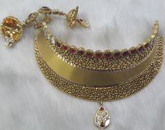 Gold jewellery set #Bridal #gold #antique#wedding