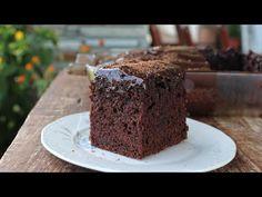 Αφράτο ΝΗΣΤΙΣΙΜΟ Κέικ Σοκολάτας (ΧΩΡΙΣ ΜΙΞΕΡ) - Νηστίσιμη ΓΛΥΚΑΡΑ - Vegan Chocolate Cake - YouTube