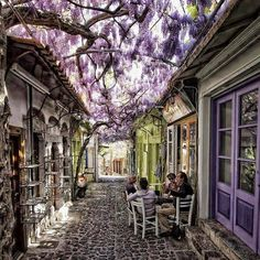 Molyvos village in Lesvos, Greece. The official name of this village is Mithymna, which is its ancient name, but locals refer to it as Molivos. It is located on the northernmost part of Lesvos and is a traditional place, attracting thousands of visitors w | by Investors Clinic