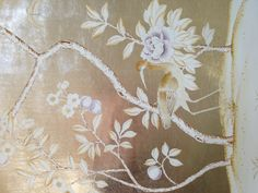 Dining Room hand painted Chinese wallpaper