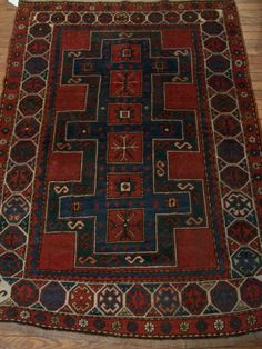 Hayko Fine Rugs & Tapestries - ANTIQUE ARMENIAN KAZAK