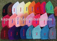 Crochet kufi hat