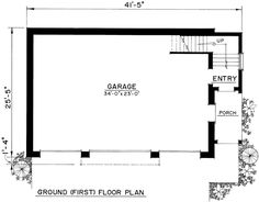 First Floor of Plan ID: 50733