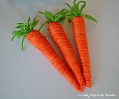 Springtime Bunny & Carrot Door Hanger - A Pretty Life In The Suburbs