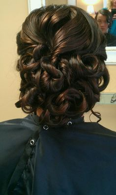 Prom Updo Hairstyles Braids And Swirls  Hair And Make Up  Pinterest  Prom Updo Updo