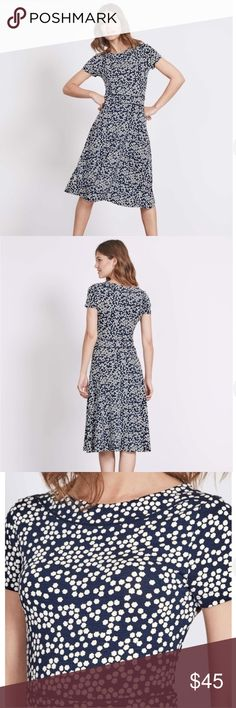 8010ba065b5 Boden Dress Portia Jersey Dress Midi In excellent condition. Worn twice. No  flaws.