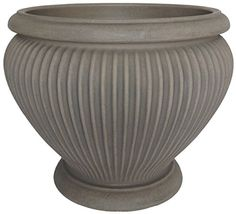Special Offers - Planters Online Resin Este Urn Dove Gray Finish 18-Inch - In stock & Free Shipping. You can save more money! Check It (April 16 2016 at 01:31PM) >> http://growlightusa.net/planters-online-resin-este-urn-dove-gray-finish-18-inch/