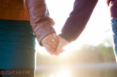 Gotta get a shot of that unbelievable ring. Engagement session by Light My Fire Photography in Charlotte, Concord, Huntersville NC