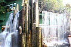 Silver Strand Waterfall, Nan Lian Garden, Hong Kong...RESTAURANT