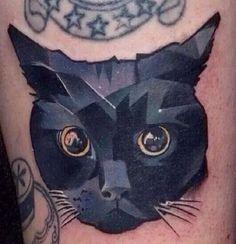 awesome Geometric Tattoo - 2017 trend Geometric Tattoo - ... cat tatoo forward cat tattoo pesquisa google g...