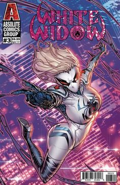 White Widow #3 Meyers Foil Cover B
