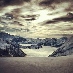 Amazing view in Dolomites; Italy