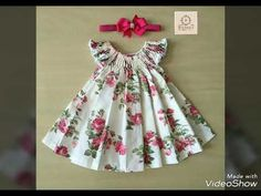 DIY Ruffled Baby Frock Cutting And Stitching Full Tutorial - YouTube