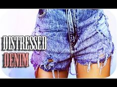 How to: Distress-Hole Your Denim Shorts! | AndreasChoice