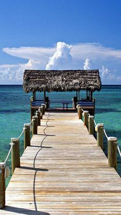 New Providence Island Bahamas iPhone 5 Wallpaper