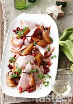 Follow the Nordic take on traditional trimmings and serve up this glazed ham for Christmas. (Photography by Brett Steven; Recipe by Valli Little).