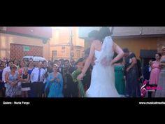 Sorpresa del Novio a la Novia en la Iglesia, Quiereme - Nuria Fergo, La ...