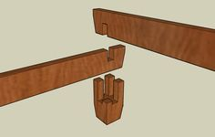 Asian Inspired Platform Bed - by silverhalo @ LumberJocks.com ~ woodworking community   really neat corner joinery