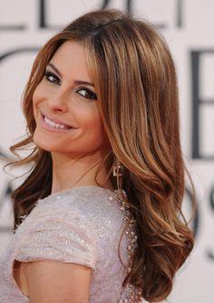 Maria Menounos Medium Straight Hairstyles women Maria-Menounos-Hairs
