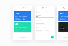 Dribbble - credit_card_ui_screens.jpg by Luboš Volkov
