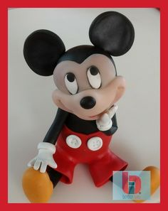 Mickey Mouse, Disney Characters, Fictional Characters, Cold, Cold Porcelain, Fantasy Characters, Baby Mouse