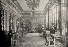 The Trellis Room at the Colony Club – Source Unknown. De Wolfe ...