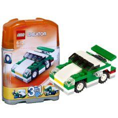 LEGO 6910 Creator: MINI Sportwagen http://www.meinspielzeug24.de/lego-6910-creator-mini-sportwagen #Junge, #LEGOCreator #Konstruktionspielzeug, #Spielwaren