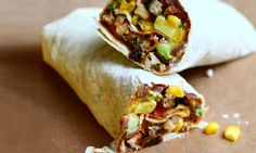 Chicken Fajita Wraps I SpryLiving.com