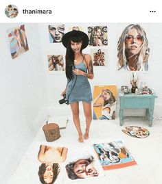 Another one of my favorites! Her art, style, and beauty are so inspiring!  #thanimara