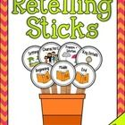 Retelling Sticks are a tool for students to help them retell stories, while identifying and describing story elements. The visual cues will aid stu...
