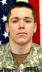 Army PFC. James J. Harrelson, 19, of Dadeville, Alabama. Died July 17, 2007, serving during Operation Iraqi Freedom. Assigned to 2nd Battalion,16th Infantry Regiment, 4th Infantry Brigade Combat Team, 1st Infantry Division, Fort Riley, Kansas. Died of injuries sustained when an improvised explosive device detonated near his position in Baghdad, Iraq..